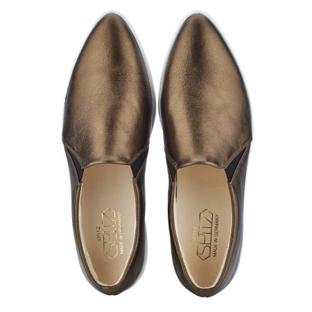 spitz slip on bronze top