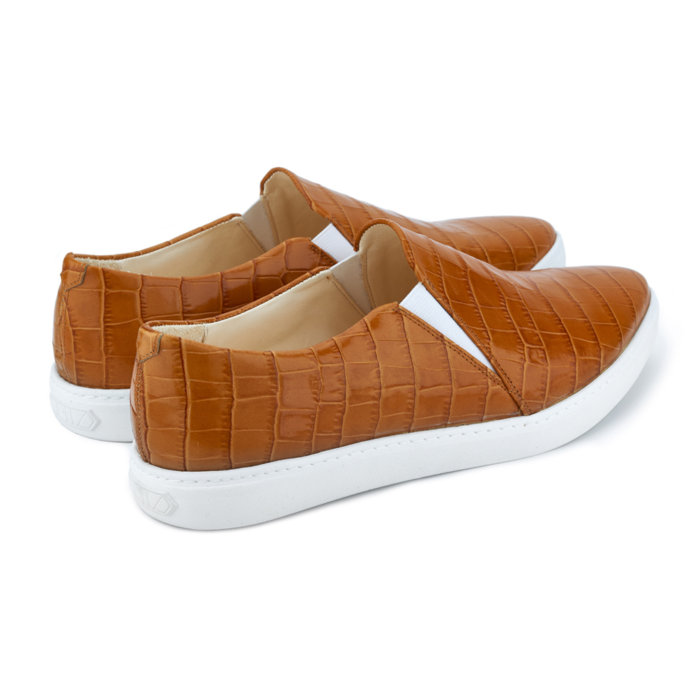 spitz slip on rusty croco back